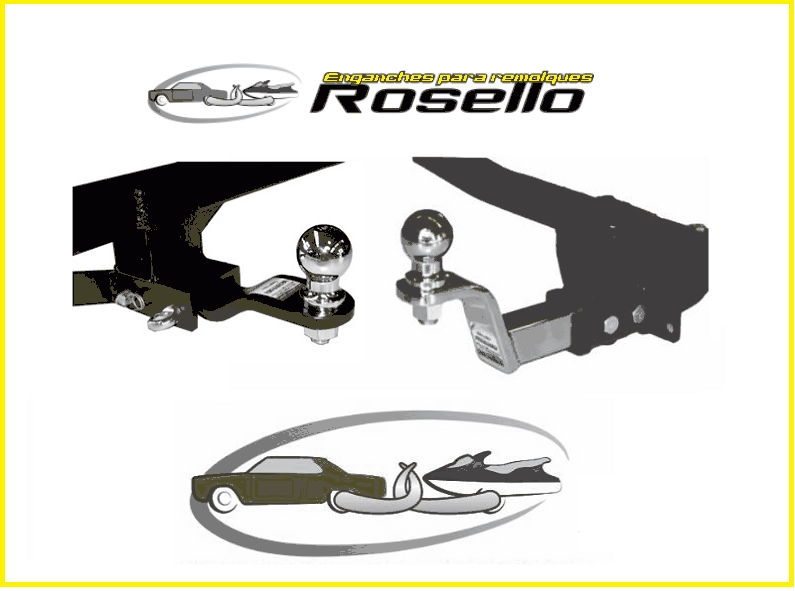 Enganches Rosello Ganchos para Trailers